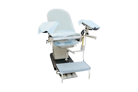 gynecological: Gynecological chair. Gynecological room Stock Photo