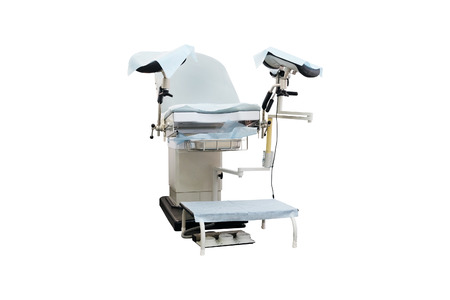 aseptic: Gynecological chair. Gynecological room Stock Photo