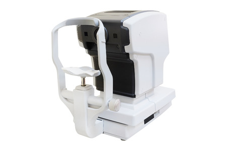 ophthalmic: The image of test vision machine