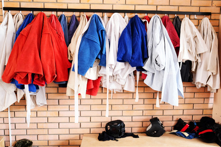 locker room: Kimono in the locker room