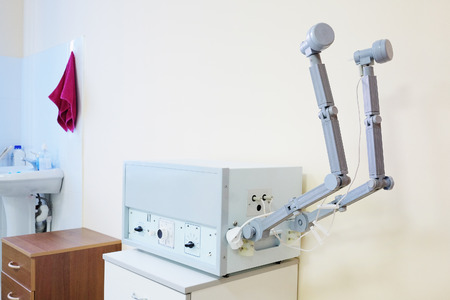 apparatus: The physiotherapy apparatus in  physiotherapy room