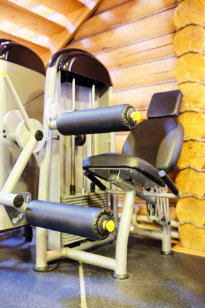 The image of gym apparatus photo