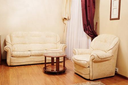 classic living room: Comfortable classic living room