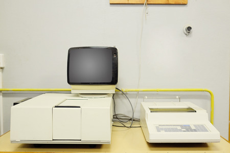 spectrophotometer: Spectrophotometer for research papers.