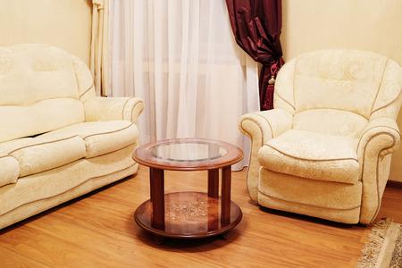 comfortable: Comfortable classic living room