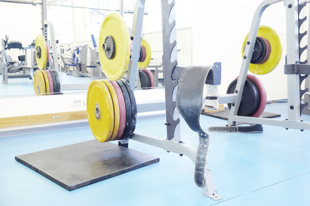 barbel: Barbel weights in gym