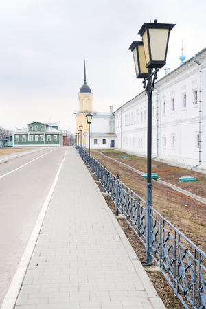 KOLOMNA, RUSSIA - MARCH 21, 2015: Bogoyavlensky Staro-Golutvin monastery. photo