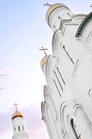 trinity: Cathedral of Holy Trinity of Bryansk, Russia Stock Photo