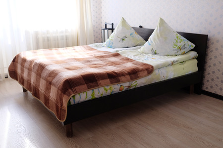 The image of a bedroom interior photo