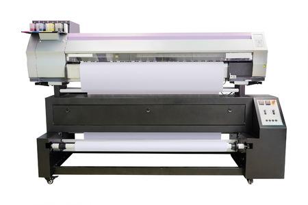 printing machine: The image of a professional printing machine