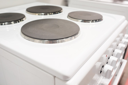 cooktop: The image of an electric stove