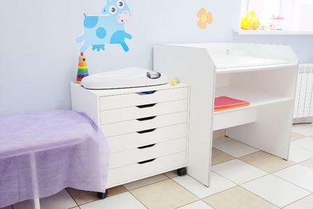 Moderne interieur van het kantoor kinderarts
