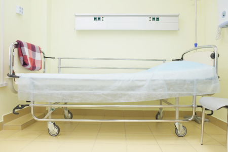 healthcare facilities: Interior of a hospital chamber Stock Photo