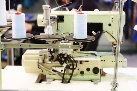 industria textil: Industria textil - m�quina de tejer