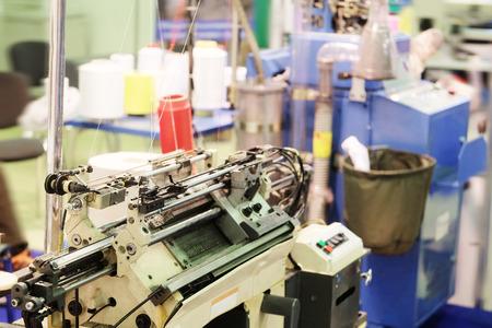 textile industry: Industria textil - máquina de tejer