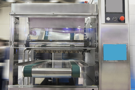 automated tooling: Production line at bakery