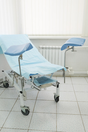 gynecologic: The image of a gynecological chair