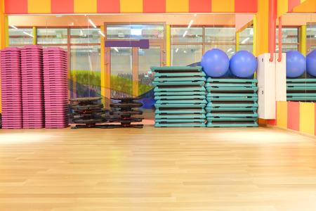 The interior of the dance studio