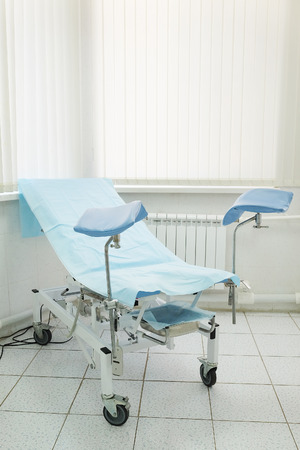 gynecological: The image of a gynecological chair