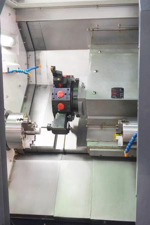 metalworking: The image of metal-working machine