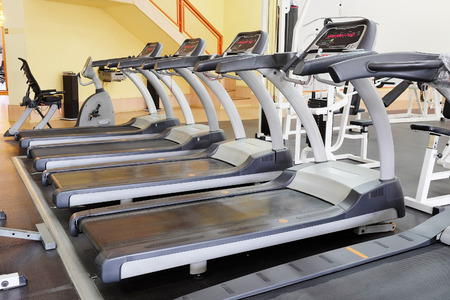 leisure centre: The image of treadmill