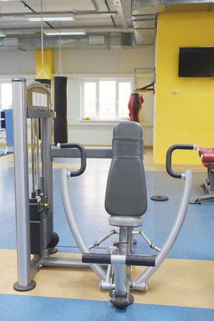 exercice: Interior of a fitness hall