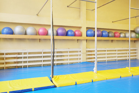 sport hall: Interior of a sport hall Stock Photo