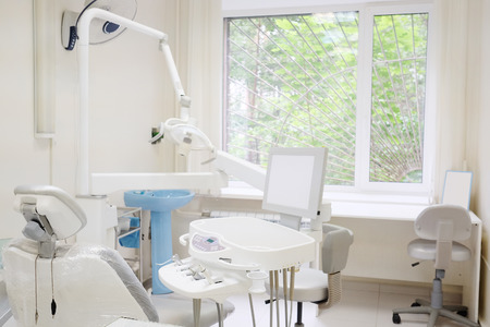 office cabinet: Interior of a dentist office