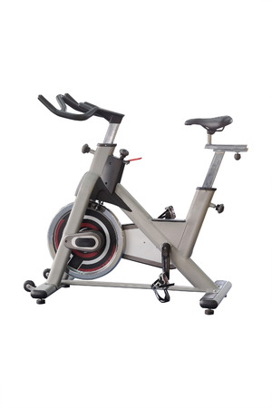 exercice: The image of fitness bycicles