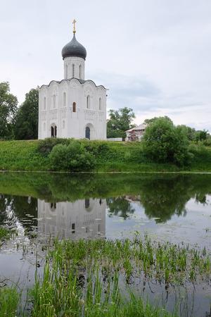 nerl: Church of the Intercession on the Nerl in Bogolyubovo near Vladimir, Russia