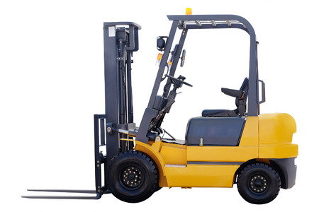 mini loader: Loader isolated under the white background