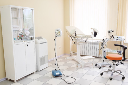 gynecological: Gynecological chair in gynecological room