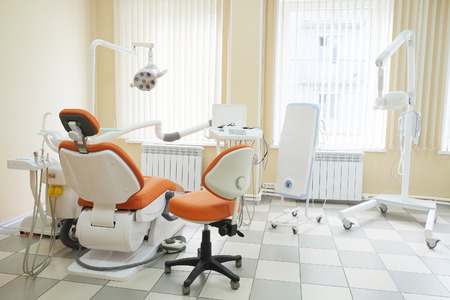 Interior of a dental clinic