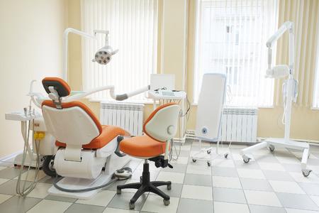 Interieur van een tandheelkundige kliniek Stockfoto