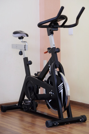 exercice: The image of fitness bycicle