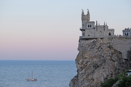 golondrinas: The Swallows Nest, a castle located on the Crimean