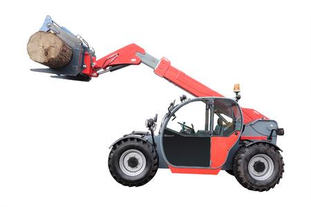 gatherer: The image of tree-felling machine