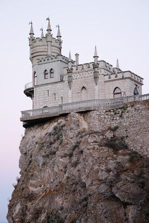 golondrinas: Nido de Golondrina, un castillo situado en la Crimea