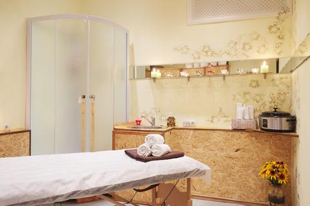 Interieur van een massageruimte