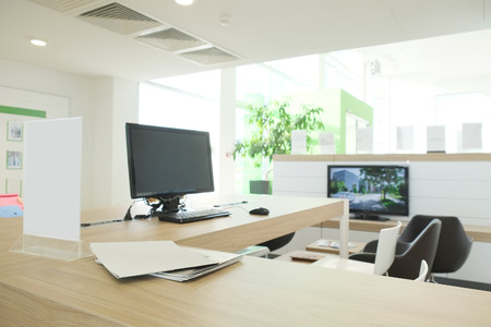 contemporary interior: Interior of a modern office