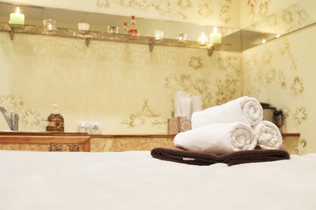 Interior of a massage room