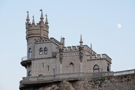 tragos: Nido de Golondrina, un castillo situado en la Crimea