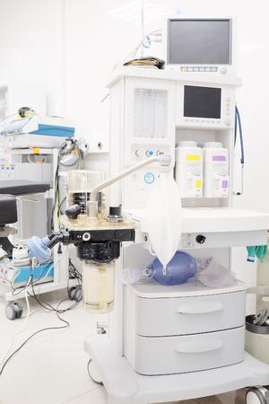 apparatus: The image of anesthesia apparatus