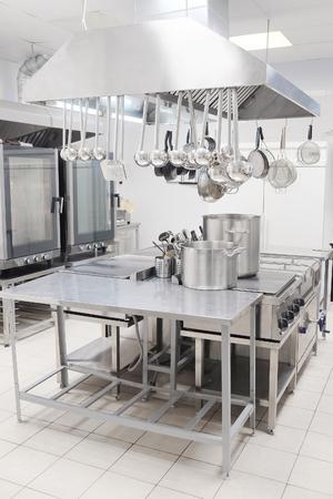 Profi-Küche in einem Restaurant Standard-Bild - 46985141