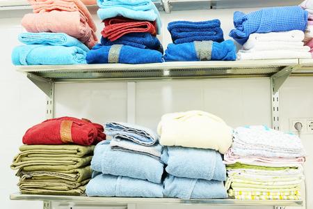 laundrette: Interior of a hospital laundry