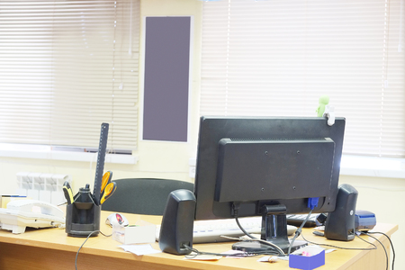registrar: Intrerye of a modern office Stock Photo