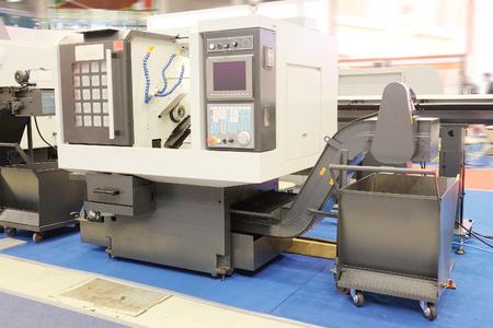 Het beeld van de metaalverwerkende machine