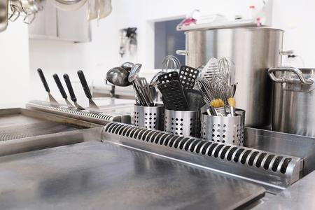 Cucina professionale in un ristorante Archivio Fotografico - 44588936