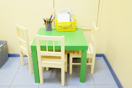 pedagogical: Children zone in a paediatrician clinic Stock Photo