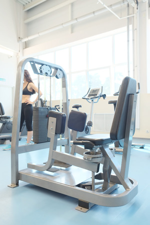 exercice: The image of a fitness hall